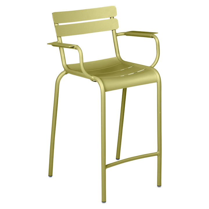 Fermob_Luxembourg High Armchair_Gallery Image 11_Willow Green
