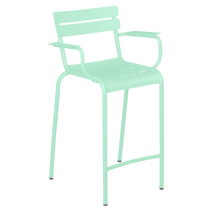 Fermob_Luxembourg High Armchair_Gallery Image 14_Opaline Green