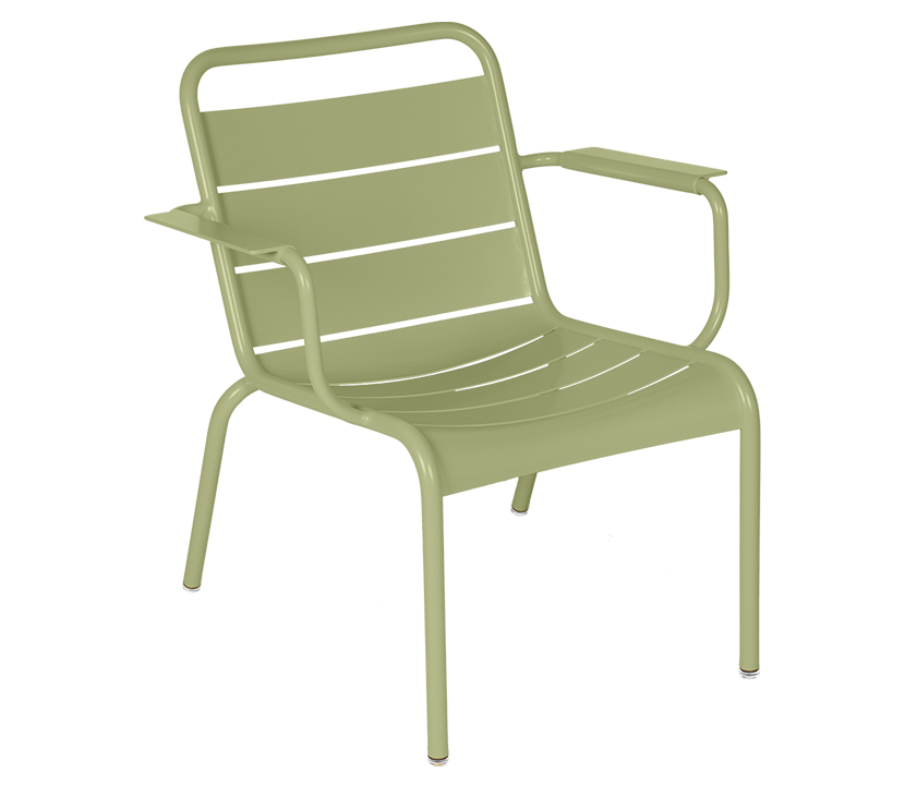 Fermob_Luxembourg Lounge Armchair_Gallery Image 12_Willow Green