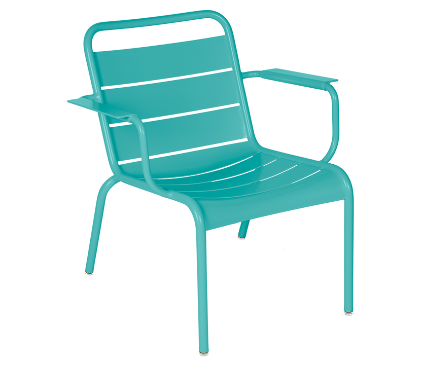 Fermob_Luxembourg Lounge Armchair_Gallery Image 16_Lagoon Blue