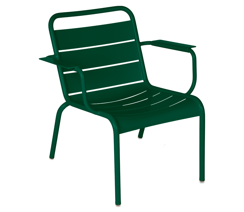 Fermob_Luxembourg Lounge Armchair_Gallery Image 17_Cedar Green