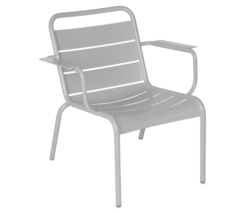 Fermob_Luxembourg Lounge Armchair_Gallery Image 19_Steel Grey