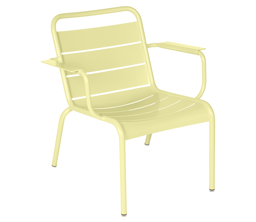 Fermob_Luxembourg Lounge Armchair_Gallery Image 24_Frosted Lemon