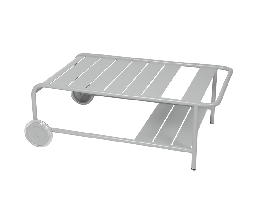 Fermob_Luxembourg Low Table with Casters_Gallery Image 19_Steel Grey