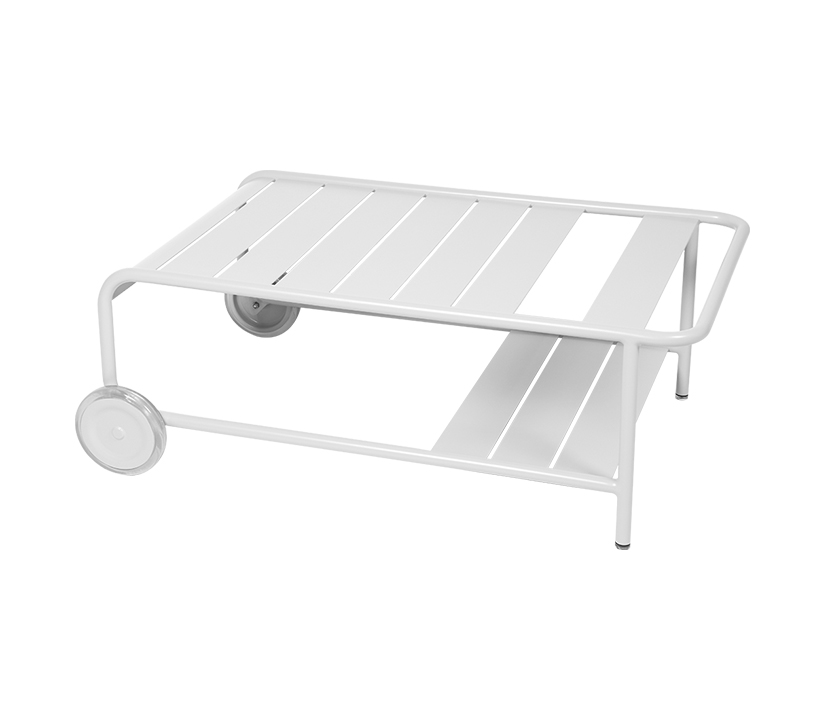 Fermob_Luxembourg Low Table with Casters_Gallery Image 3_Cotton