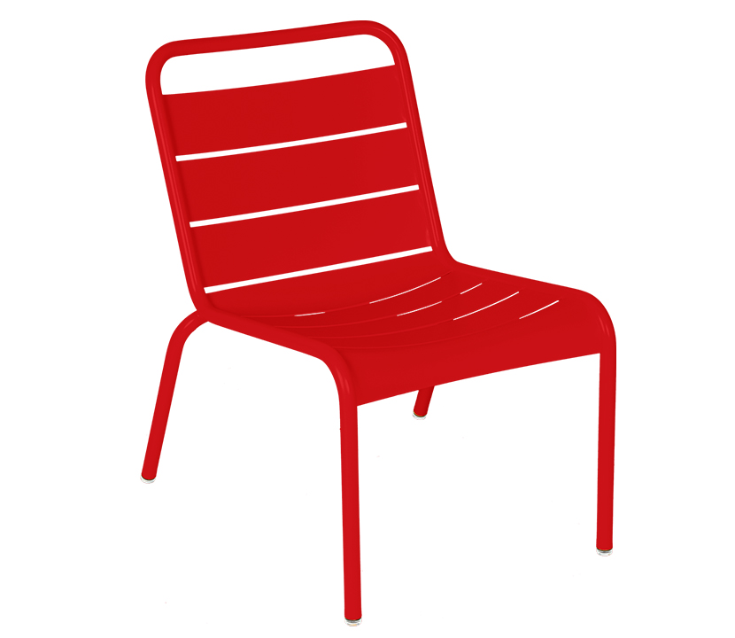 Fermob_Luxembourg_Lounge Chair_Gallery Image 1_Poppy Red