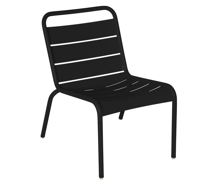 Fermob_Luxembourg_Lounge Chair_Gallery Image 21_Liquorice