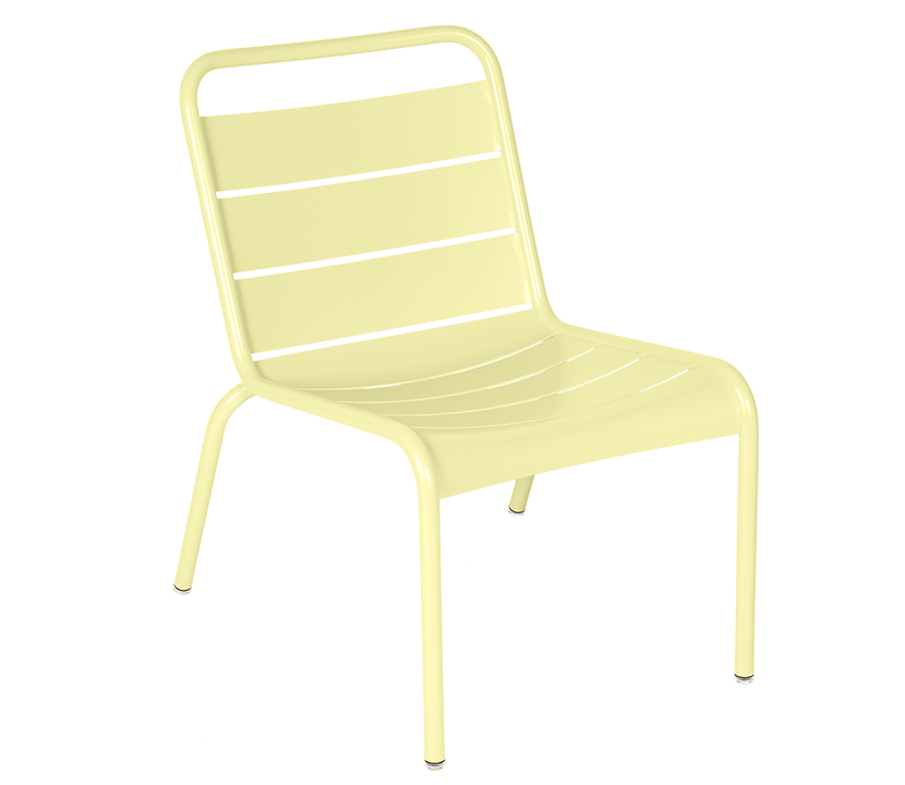 Fermob_Luxembourg_Lounge Chair_Gallery Image 23_Frosted Lemon