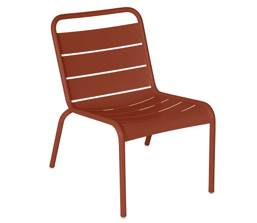 Fermob_Luxembourg_Lounge Chair_Gallery Image 5_Red Ochre