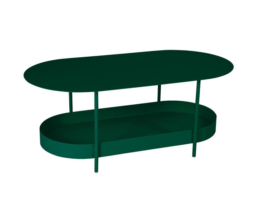 Fermob_Salsa Low Table_Gallery Image 16_Cedar Green