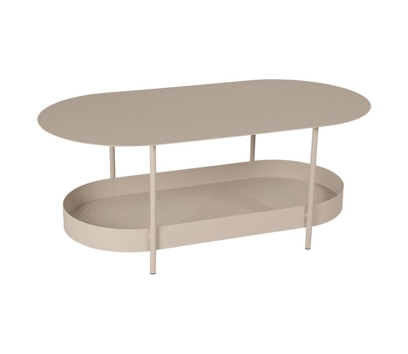 Fermob_Salsa Low Table_Gallery Image 3_Nutmeg