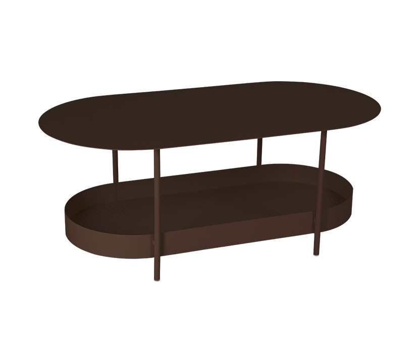 Fermob_Salsa Low Table_Gallery Image 4_Russet