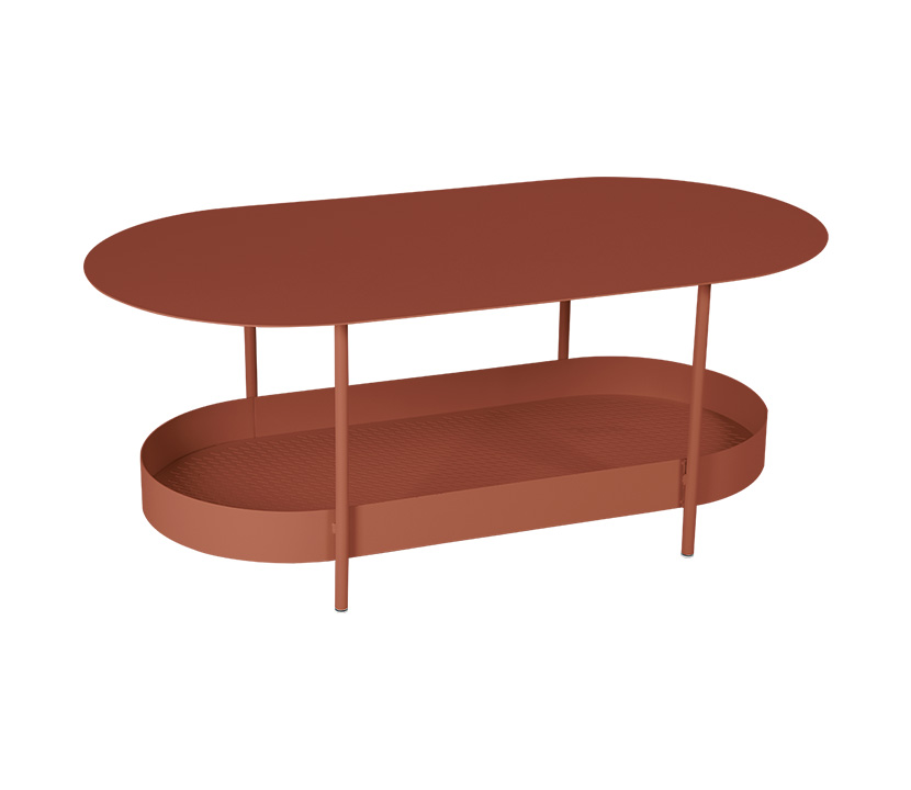 Fermob_Salsa Low Table_Gallery Image 5_Red Ochre