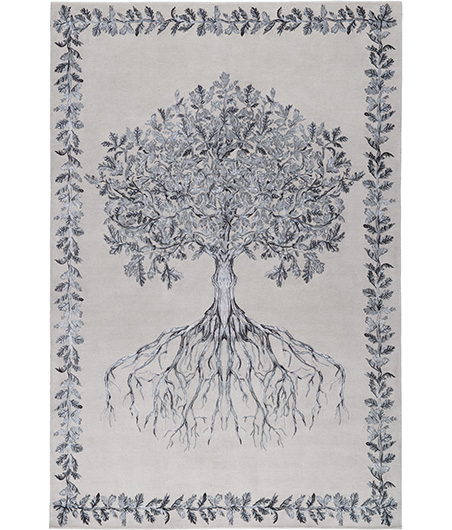 The Rug Company_Metamorphosis_Tree of Life Silo