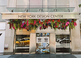 200 Lex Floral Installation