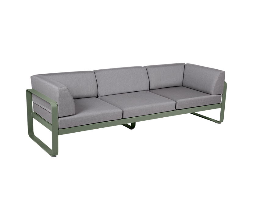 Bellevie Canape Club 3 Seater Flannel Grey_Gallery 1_Cactus