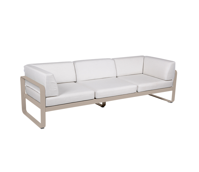 Bellevie Canape Club 3 Seater Off White_Gallery 1_Nutmeg