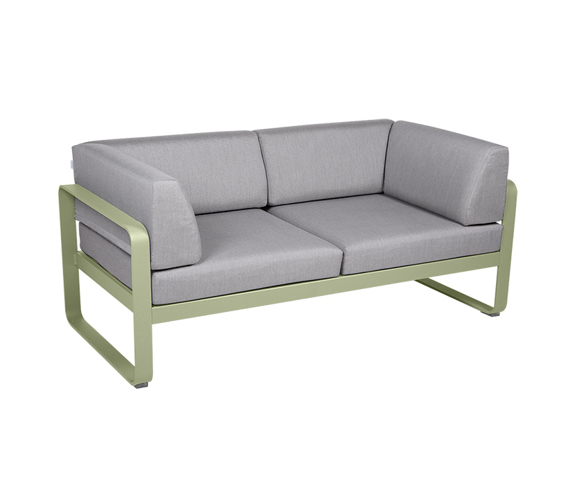 Fermob_Bellevie Canape Club 2 SSeater Flannel Grey_Gallery Image 11_Willow Green