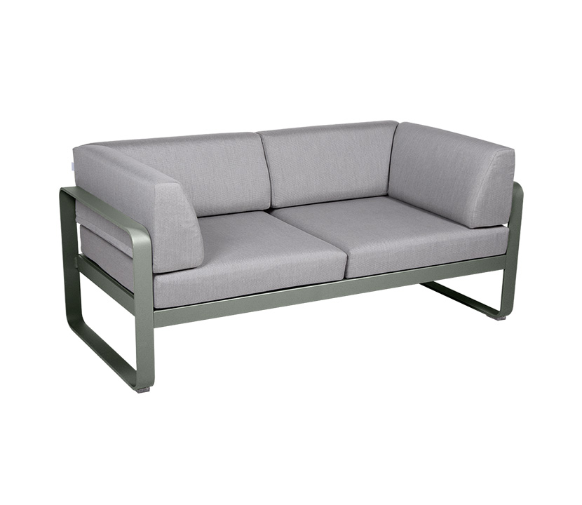 Fermob_Bellevie Canape Club 2 SSeater Flannel Grey_Gallery Image 13_Rosemary