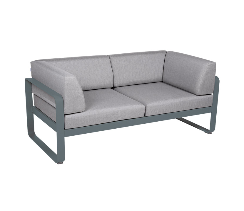 Fermob_Bellevie Canape Club 2 SSeater Flannel Grey_Gallery Image 19_Storm Grey