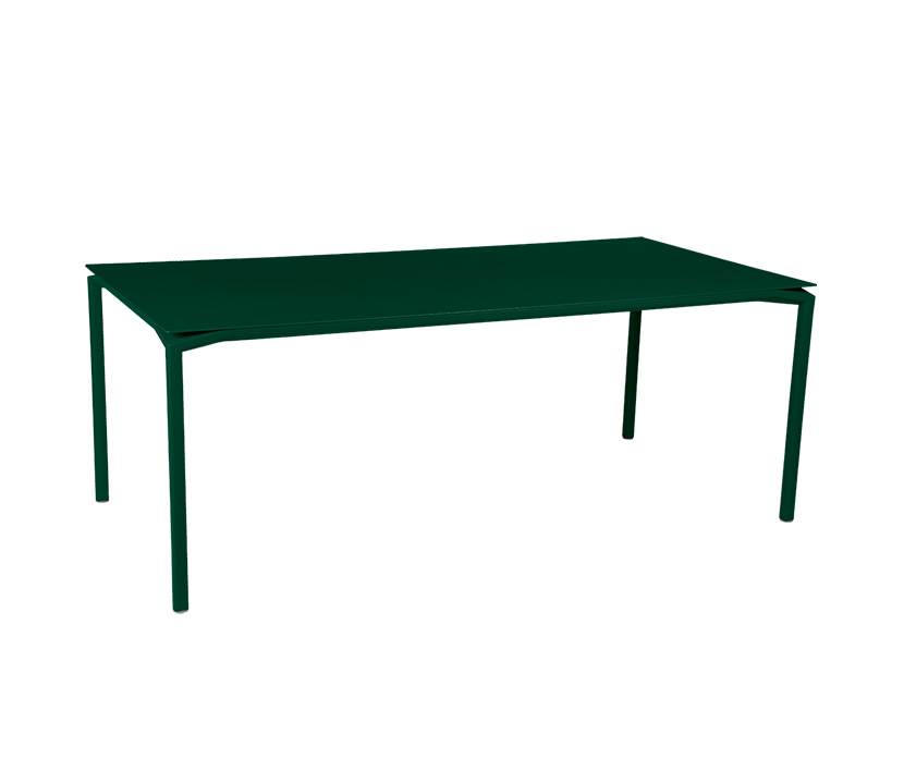 Fermob_Luxembourg Calvi High Table 77x37_Gallery Image 15_Cedar Green