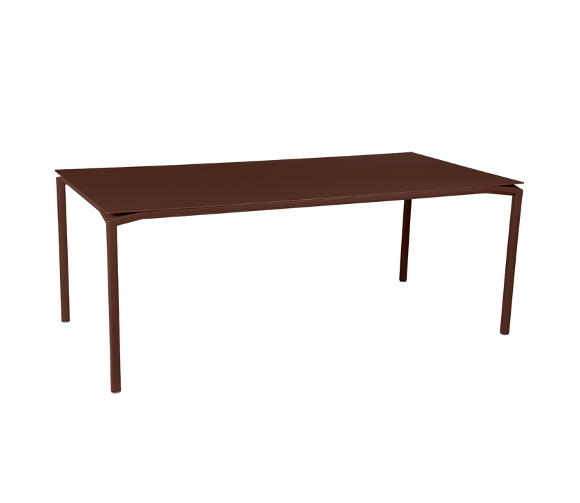 Fermob_Luxembourg Calvi High Table 77x37_Gallery Image 4_Russet