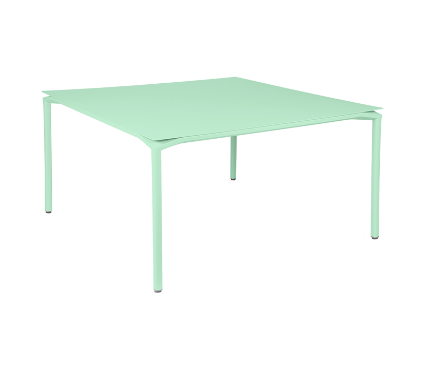 Fermob_Luxembourg Calvi Table 55x55_Gallery Image 14_Opaline Green