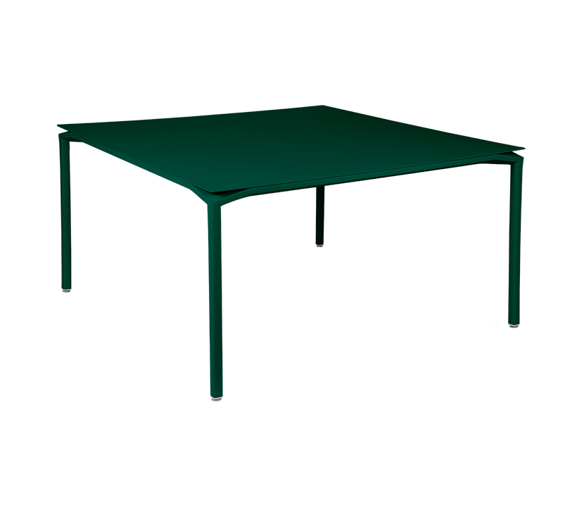 Fermob_Luxembourg Calvi Table 55x55_Gallery Image 16_Cedar Green