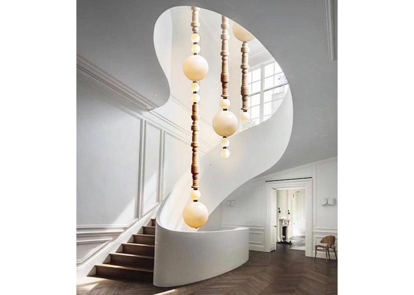 Wexler Gallery_Feyza Kemahlioglu_The Pillars of Meerschaum Lighting Collection