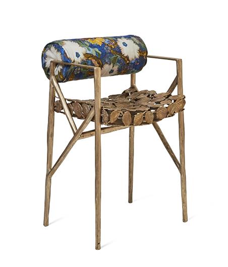 Wexler Gallery_Gregory Nangle_Lowback Leaf Dining Chair