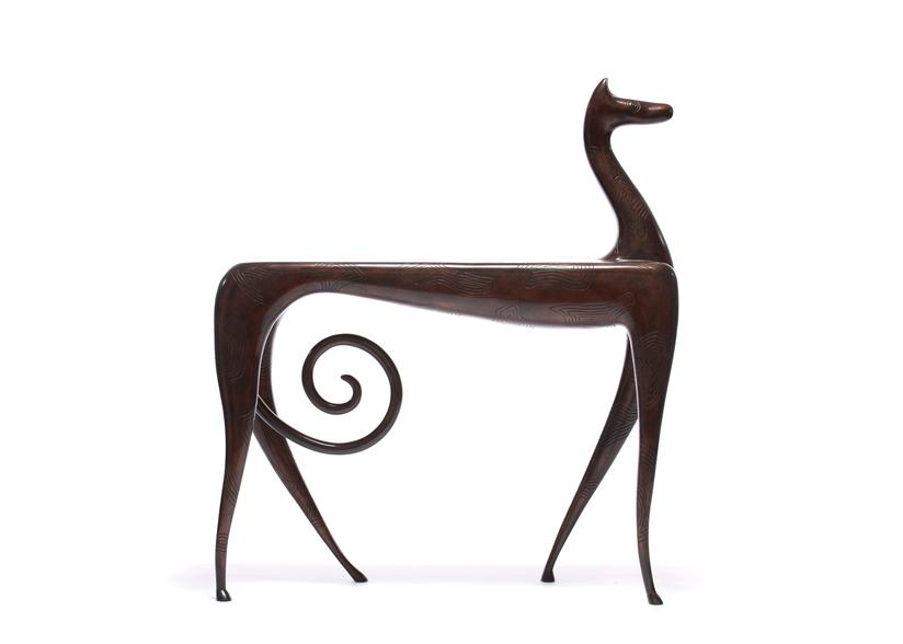 Wexler Gallery_Judy Kensley McKie_Horse Side Table