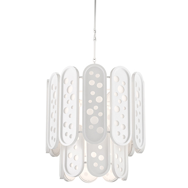 Currey & Company_Lapidus Two Tiered Chandelier