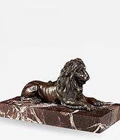 The Gallery at 200 Lex_Bronze Sculpture Lion_Thumbnail