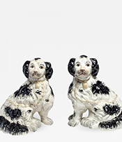The Gallery at 200 Lex_English Spaniel Staffordshire Dogs_Thumbnail